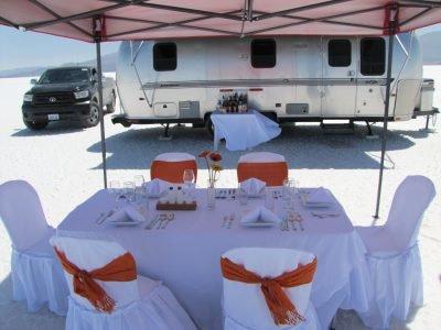 Camping de luxe au Salar d'Uyuni