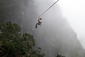 Rope Swing : sensations fortes dans les Yungas