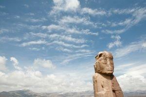 Tiwanaku, site archéologique le plus important de la culture bolivienne