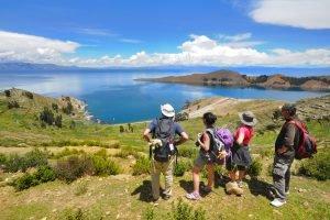 Nous vous proposons le trek de Yampupata, en bordure de l'Ile du Soleil.
