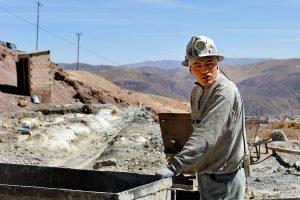 Mineurs du Cerro Rico, à Potosi.