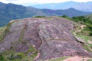 Fort inca de Samaipata à côté du Parc Amboro.