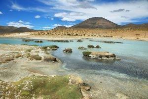 Paysage de l'altiplano bolivien.