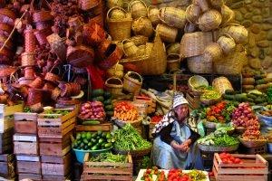 Les couleurs des marchés andins de la Paz.