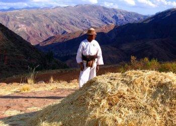 Portrait d'un habitant de Chuquisaca, Sucre
