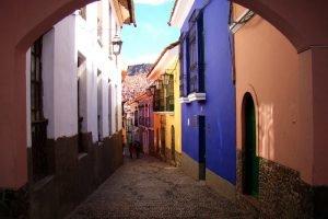 La calle Jaen, rue des musées à la Paz