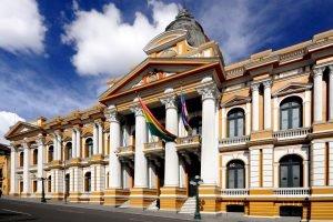Plaza Murillo à la Paz