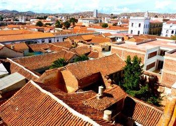 Se promener sur les toits de Sucre.
